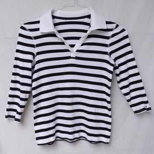 Tommy Hilfiger Striped Collared Shirt
